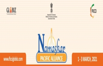 """Namaskar Pacific Alliance a multi-sectoral initiative under the aegis of new flagship brand GLOBIZ """"Connecting Business Globally"""""""